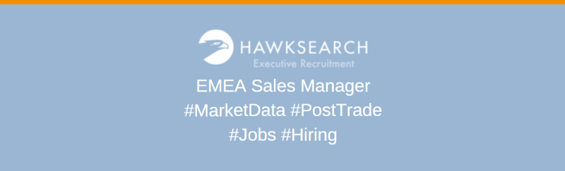 EMEA Sales Manager